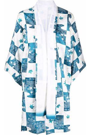 A.N.G.E.L.O. Vintage Cult 1970s floral patchwork kimono