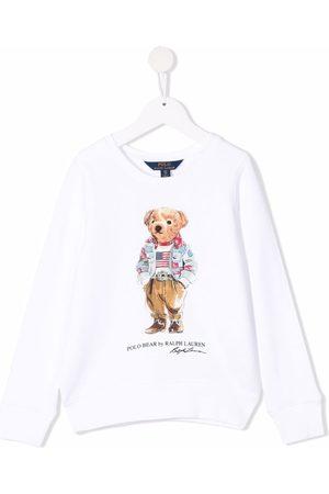 Ralph Lauren Polo Bear-motif sweatshirt