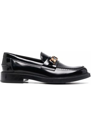 Tod's Logo-plaque leather loafers