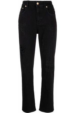 Dolce & Gabbana Ripped-detail boyfriend jeans