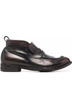 Officine creative Polished loafer-style boots
