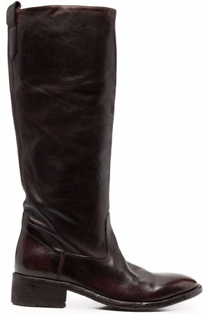 Officine creative Knee-length leather boots