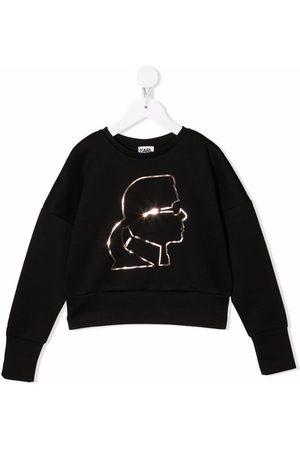 Karl Lagerfeld Karl outline sweatshirt