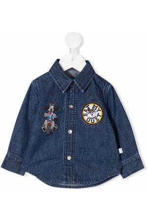 Stella McCartney Patch-detail denim shirt