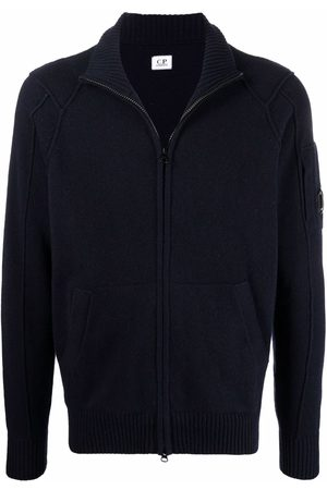 C.P. Company Zipped knitted cardigan