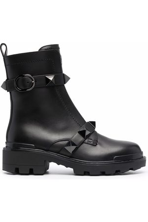 VALENTINO GARAVANI Roman Stud-embellished boots