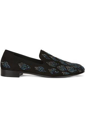 Giuseppe Zanotti Seymour embellished loafers
