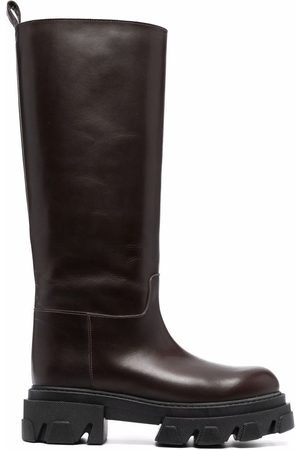 P.a.r.o.s.h. Knee-high leather boots