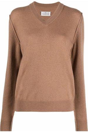 Maison Margiela Knitted cashmere jumper
