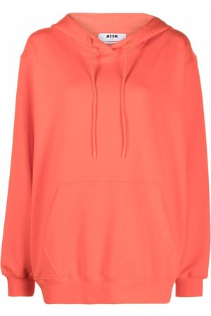 MSGM Long-sleeved cotton hoodie