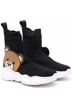 Moschino Teddy bear ankle boots