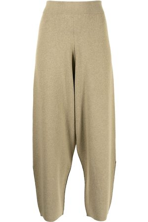 PROENZA SCHOULER WHITE LABEL Tapered cropped trousers