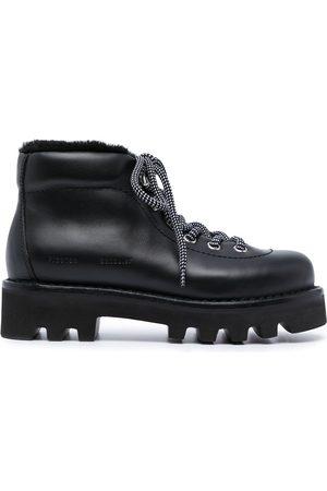 Proenza Schouler Shearling-detail hiking boots