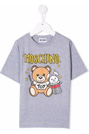 Moschino Teddy bear-motif cotton T-shirt