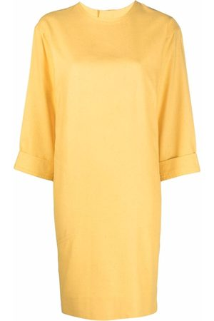 Yves Saint Laurent Pre-Owned 1990 silk T-shirt dress