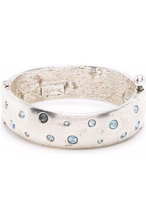Yves Saint Laurent Pre-Owned 1990 crystal-embellished bracelet
