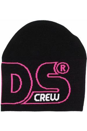 Gcds Kids Logo knit beanie