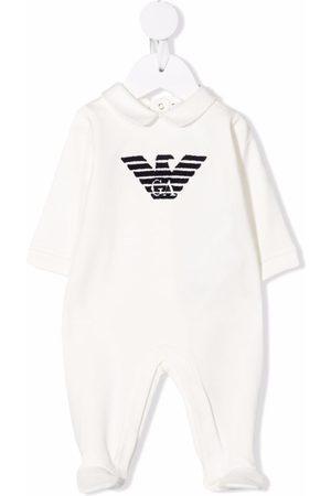 Emporio Armani Kids Logo-print pajamas
