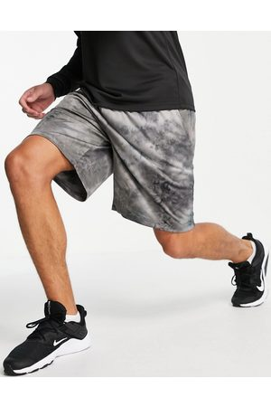 ASOS Jersey training shorts with tie dye