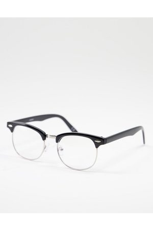ASOS Retro sunglasses in with bluelight lens