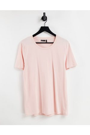 ASOS T-shirt with scoop neck in light