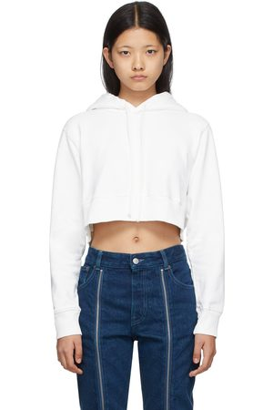 MM6 Maison Margiela Off- Cropped Hoodie
