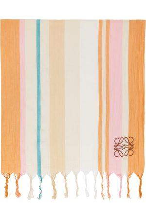 Loewe Off- & Stripes Blanket Scarf