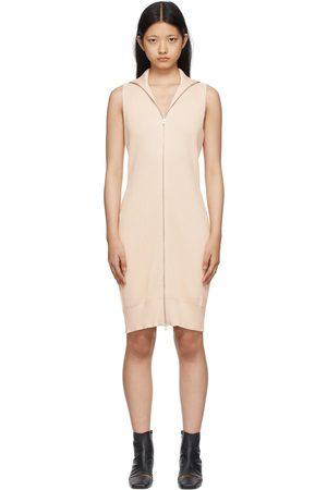 MM6 Maison Margiela Off- Knit Zip-Up Dress