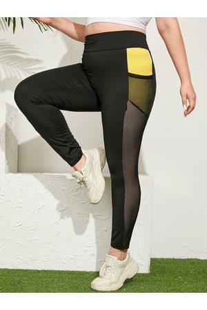 YOINS Plus Size Pocket Yoga Leggings