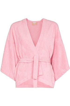 TERRY Il Pareo Kimono wrapped top
