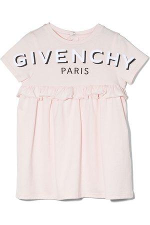 Givenchy Logo-print short-sleeve dress