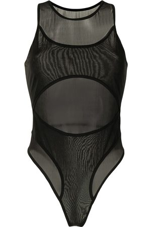 DION LEE Women Bodies - Shadow cut-out overlay bodysuit