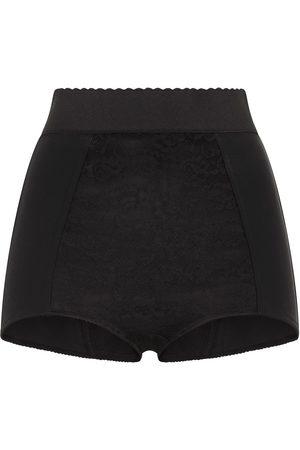 Dolce & Gabbana Scalloped-waistband shorts