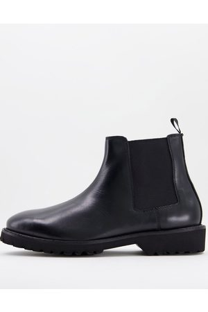 Bolongaro Leather pull on boots