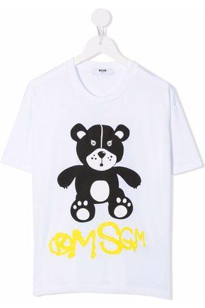 Msgm Teddy bear print T-shirt