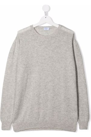SIOLA Boys Jumpers - TEEN crew-neck cashmere jumper