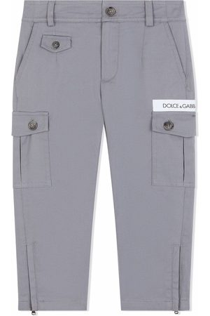 Dolce & Gabbana Boys Cargo Pants - Straight leg cargo trousers