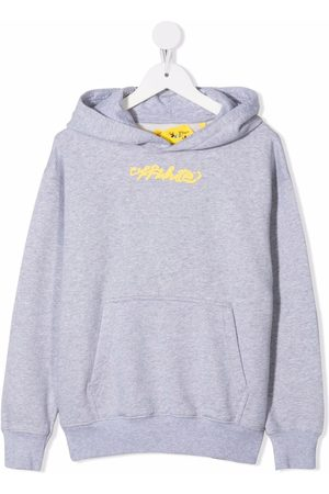 Off-White Kids OFF PEACE HOODIE LIGHT YELLOW