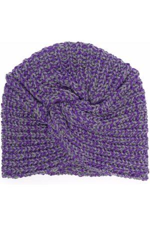 Missoni Women Beanies - Chunky knit wool beanie