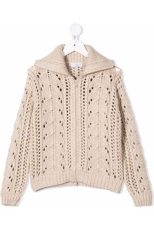 Brunello Cucinelli Knitted zipped cardigan