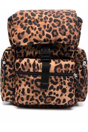 Dolce & Gabbana Girls Rucksacks - Leopard print backpack
