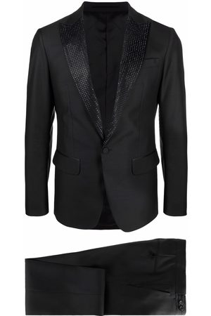 Dsquared2 Crystal-embellished single-breasted suit