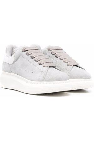 Alexander McQueen Lace-up flatform sneakers