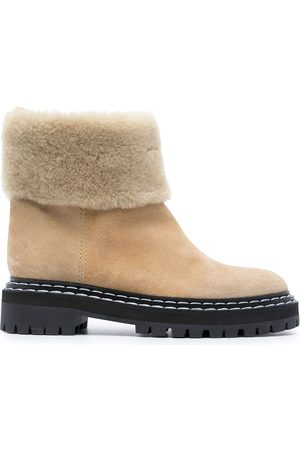 Proenza Schouler Shearling ankle boots