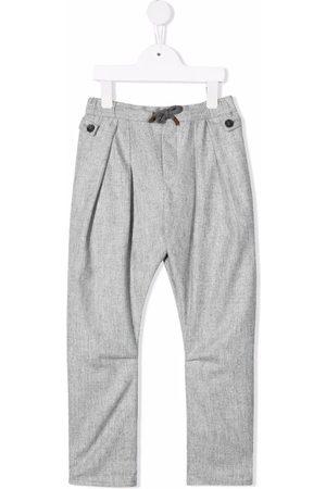 Brunello Cucinelli Pleated wool trousers