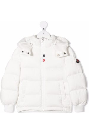 Moncler Girls Jackets - Down-filled padded jacket