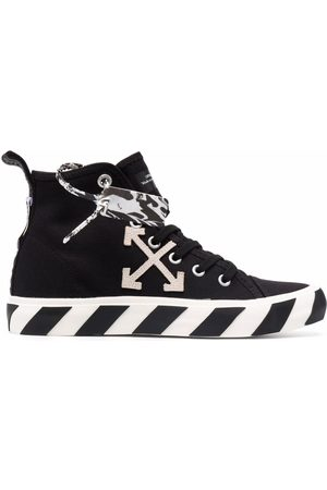 OFF-WHITE MID TOP VULCANIZED CANVAS WHITE