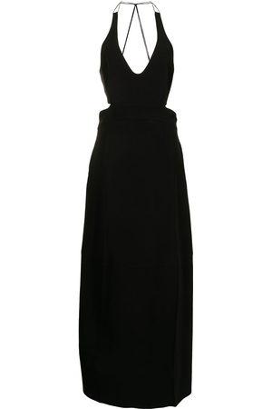Victoria Beckham Women Halterneck Dresses - Halterneck maxi dress