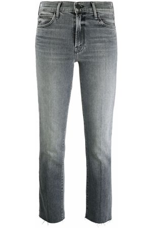 Mother Mid-rise slim cropped jeans
