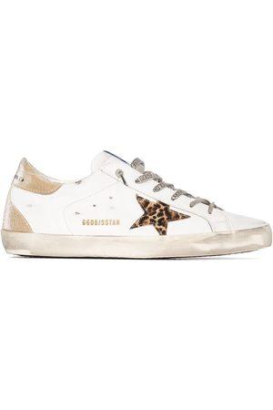 Golden Goose Women Sneakers - SUPER-STAR LCUP LT SNKR LEO